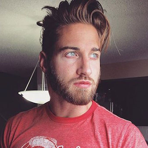 Mens Brief Hairstyles With Beard 2018