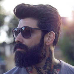 5,1 Classic Tapered Sides + Textured Pomp